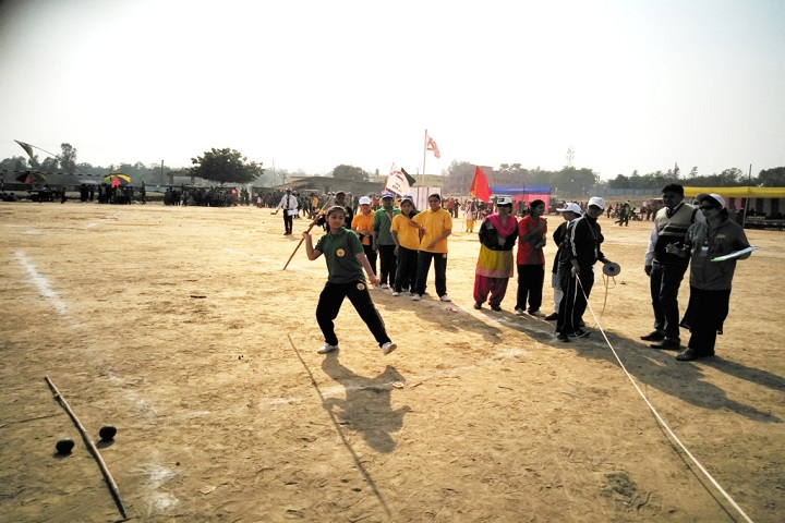 The Holy Angels English Academy-Sports day