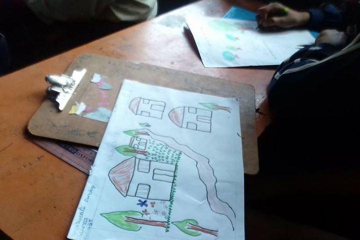 Vidya Jyoti Academy-Drawing