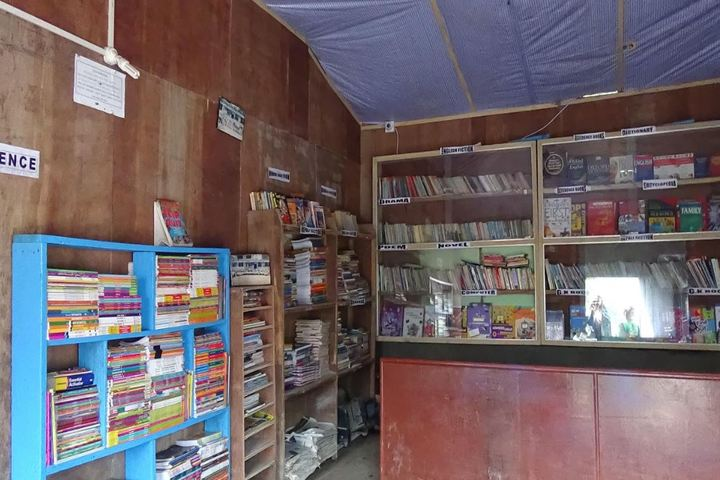 Vidya Jyoti Academy-Library