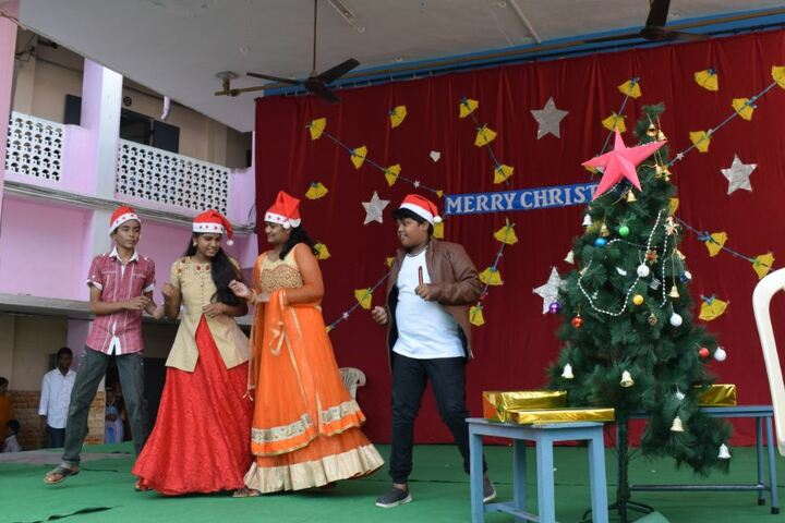 Little Flower English Medium School-Christmas Celebrations