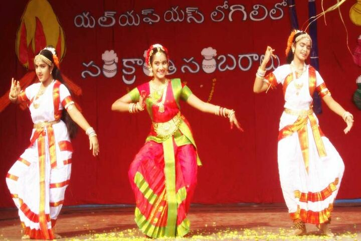 Little Flower English Medium School-Cultural Dance