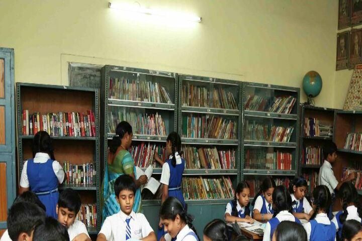 Little Flower English Medium School-Library