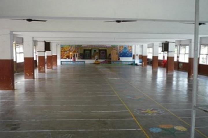 Sri Sathya Sai Gurukulam English Medium School-Prayer Hall