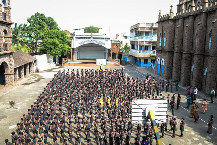 St Aloysius Anglo Indian High School-Assembly