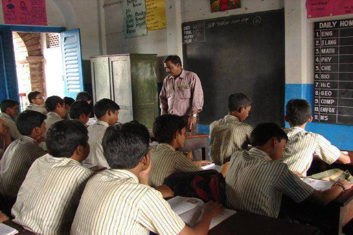 St Aloysius Anglo Indian High School-Class