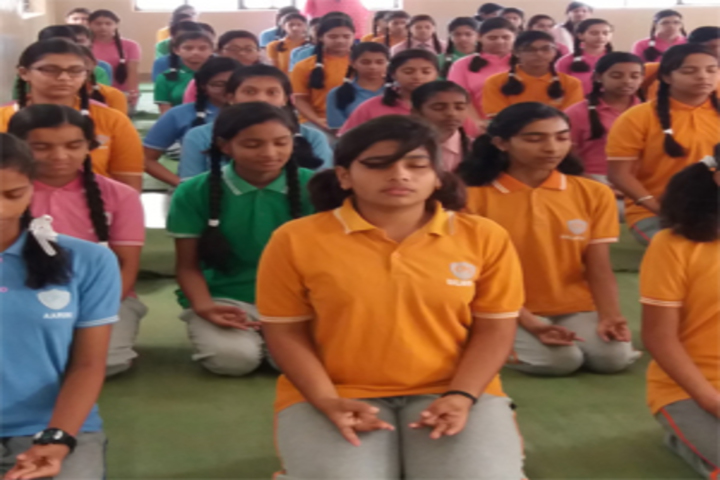 Chhattisgarh public School-International Yoga Day