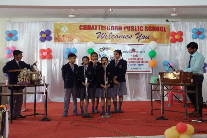 Chhattisgarh Public School-Music Compitition