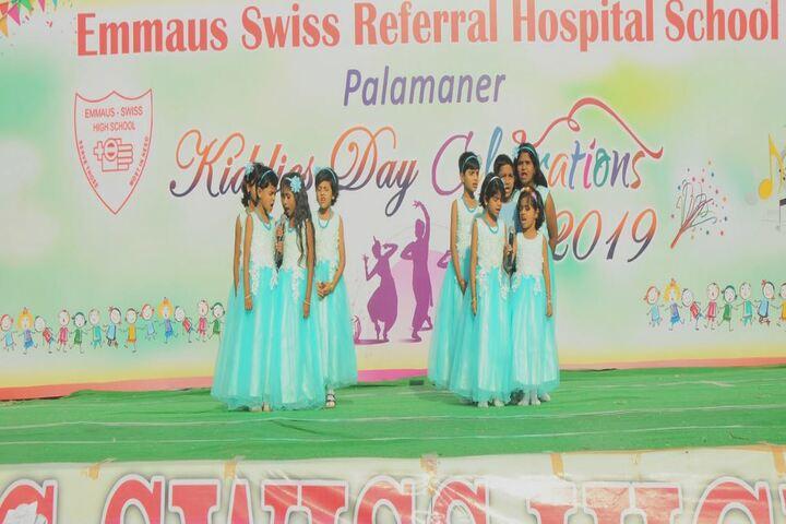 Emmaus Swiss Referral Hospital School-Singing