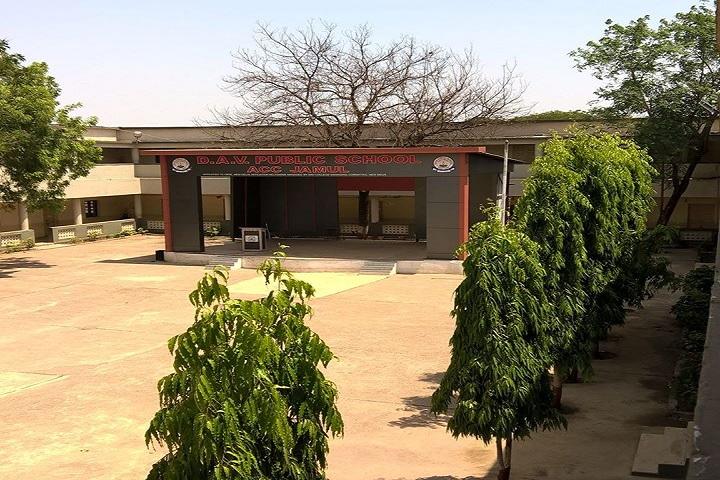 D A V Public School - Campus View
