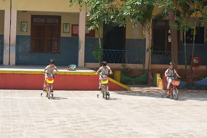 St  Francis School-Tricycle Competition
