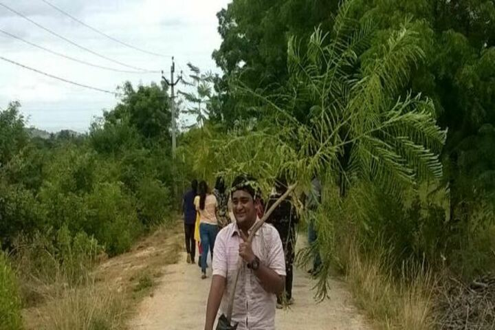 The Peepal Grove School-Planting