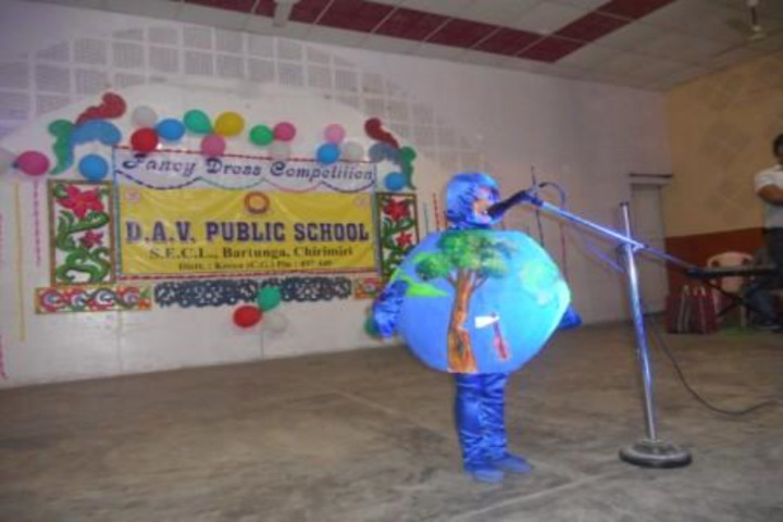 D A V Public School-Earth Day
