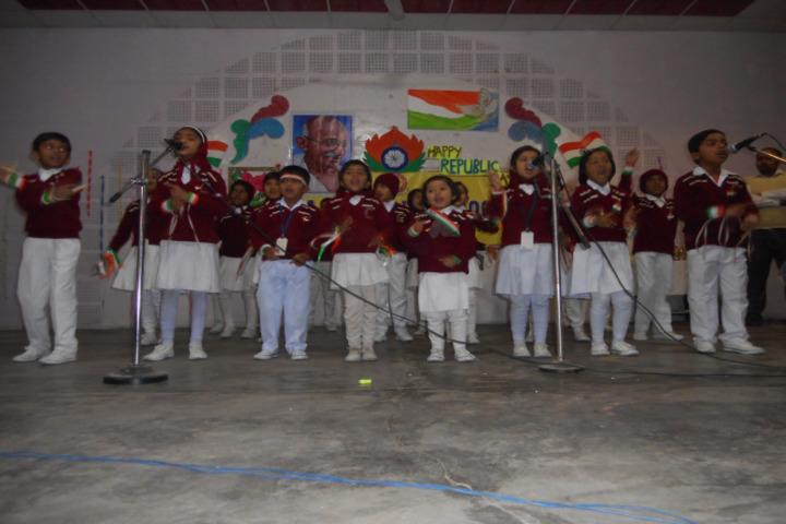D A V Public School-Republic Day