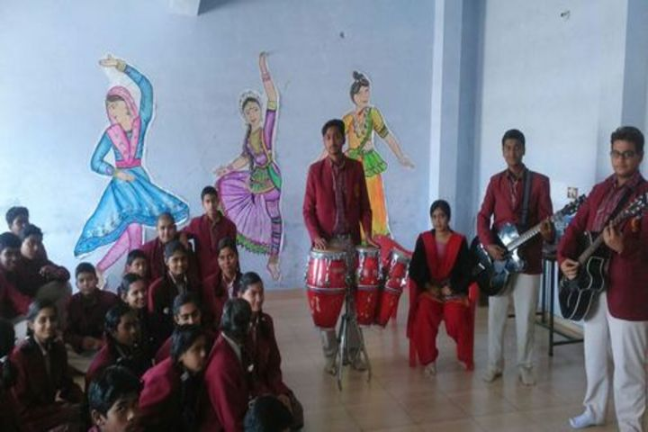 D A V Public School - Music Room