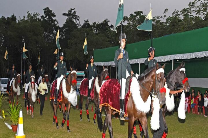 The Assam Valley School-Horse Ride