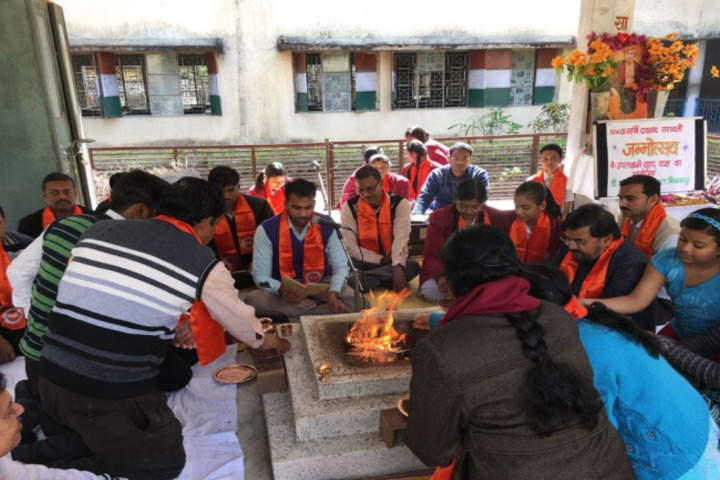 DAV Public School-Dayanand Jayanti Celebration