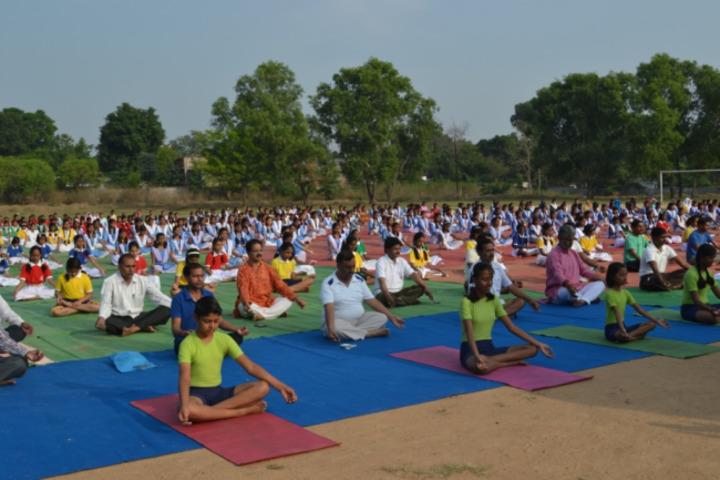 DAV Public School-International Yoga Day