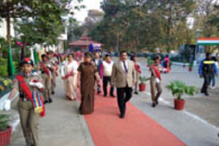 D A V Public School-Republic Day Celebration