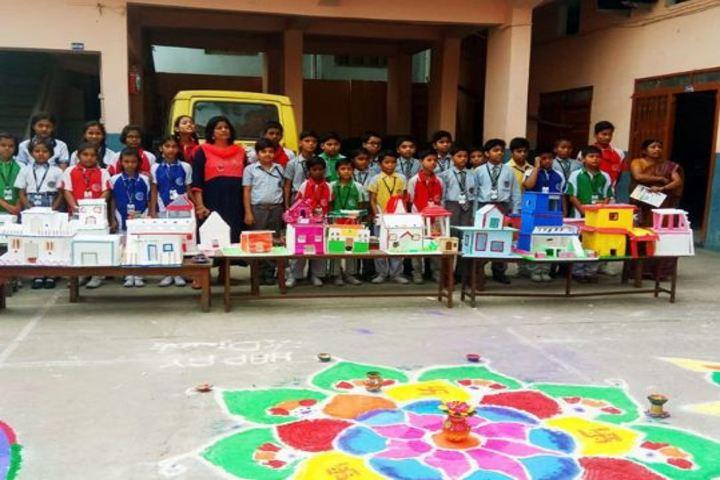 St Alberts High School-Rangoli