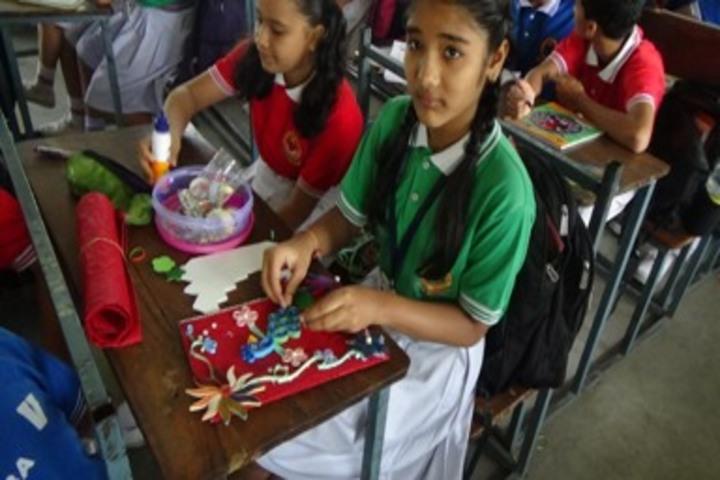 D A V Public School Korba-Activity