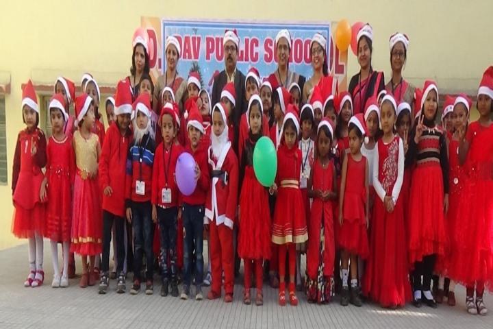 D A V Public School Korba-Christmas Celebration