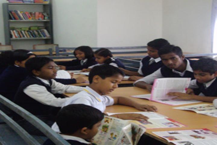 D A V Public School Korba-Library