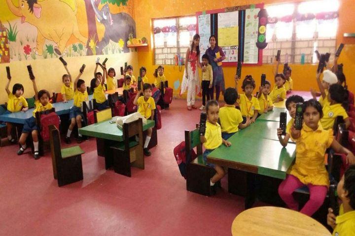 DDM Public School-KG Class Room