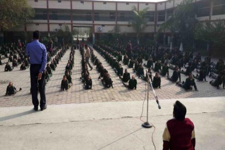 DDM Public School-Yoga Day