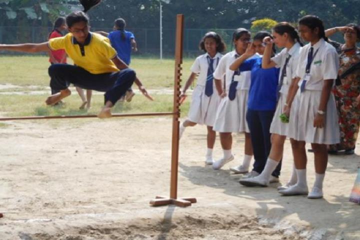 St JosephS Convent High School-Sports jump