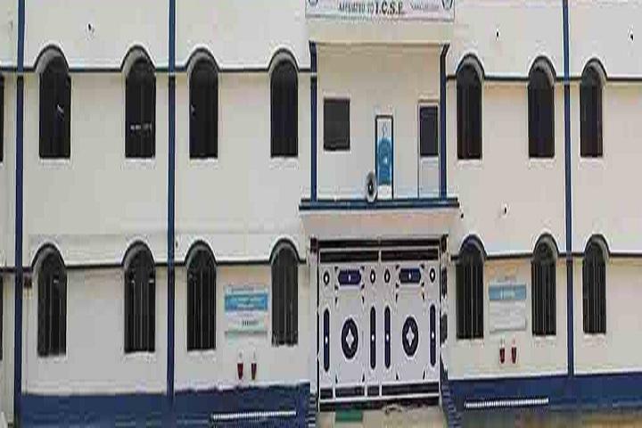 L D Don Bosco School-Campus-View front