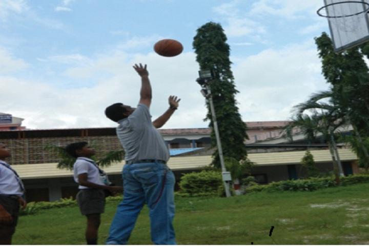 DAV Public School-Basket Ball