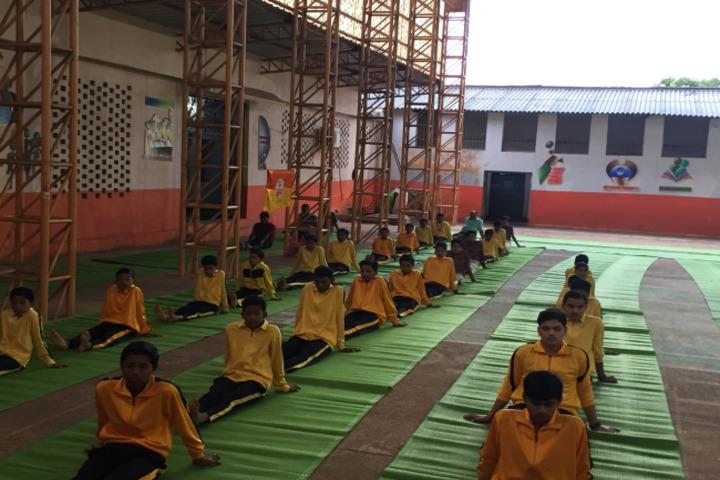 DAV Public School-Yoga Day