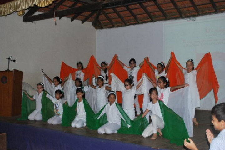 Sharada Mandir School-Events independance day