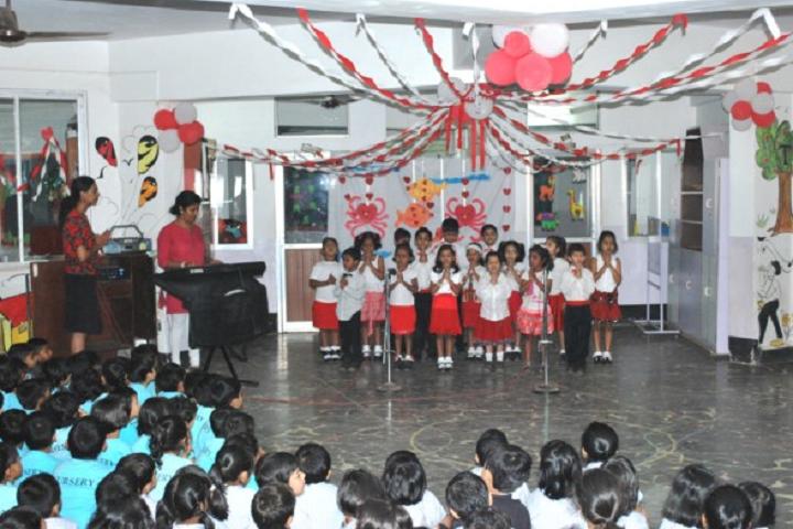 Sharada Mandir School-Events singing