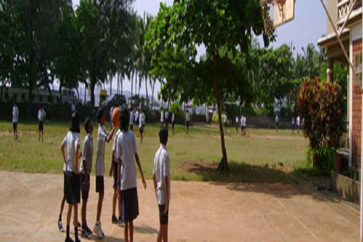 Sharada Mandir School-Sports basketball