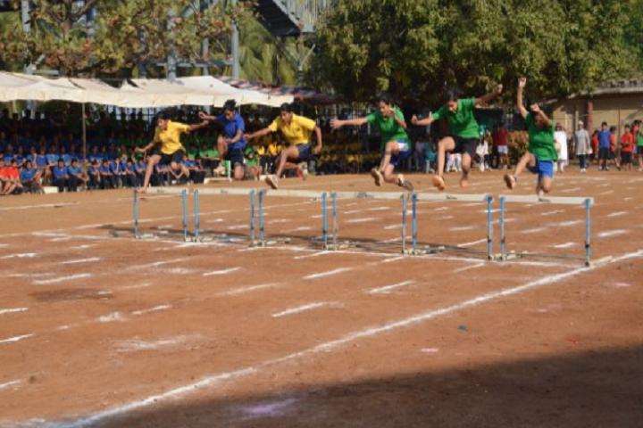 Sharada Mandir School-Sports jump
