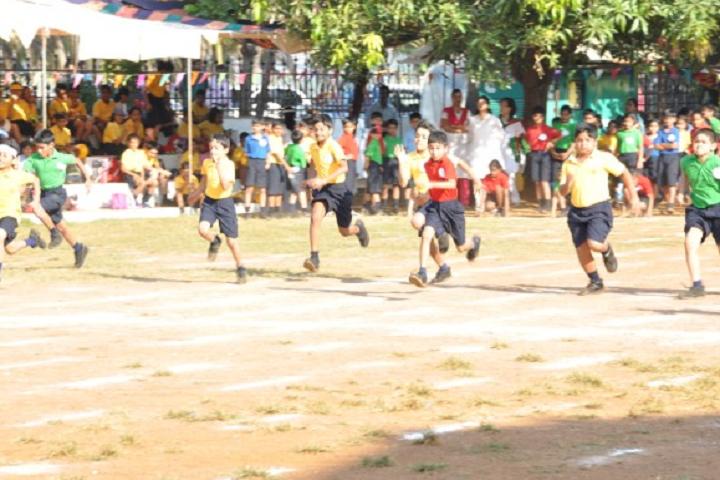 Sharada Mandir School-Sports running