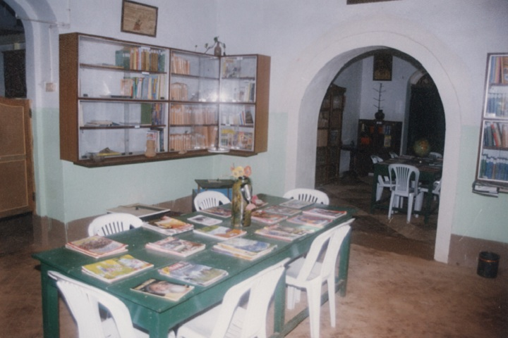 Mater Dei Institution-Library