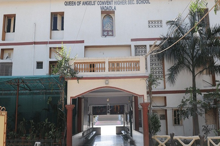 Queen Of Angels Convent Higher Secondary School-Campus-View entrance