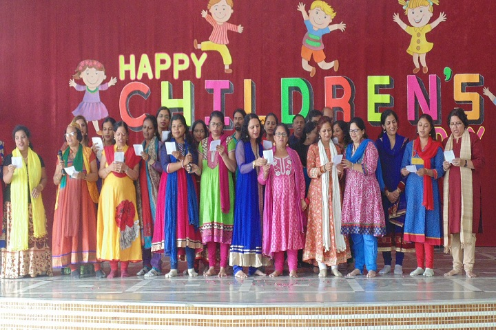 Queen Of Angels Convent Higher Secondary School-Events childrens day