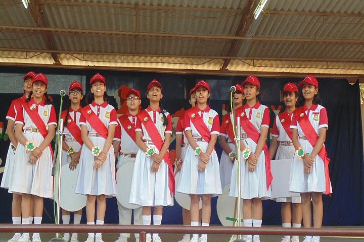 Queen Of Angels Convent Higher Secondary School-Events singing
