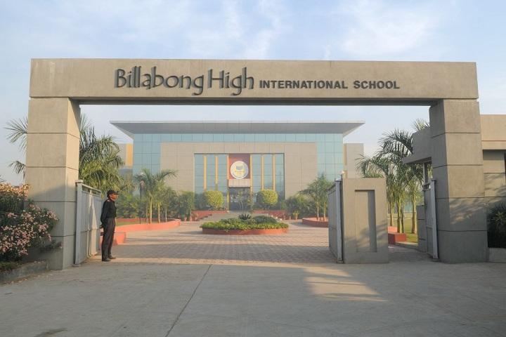 Billabong High International School-Campus-View gate