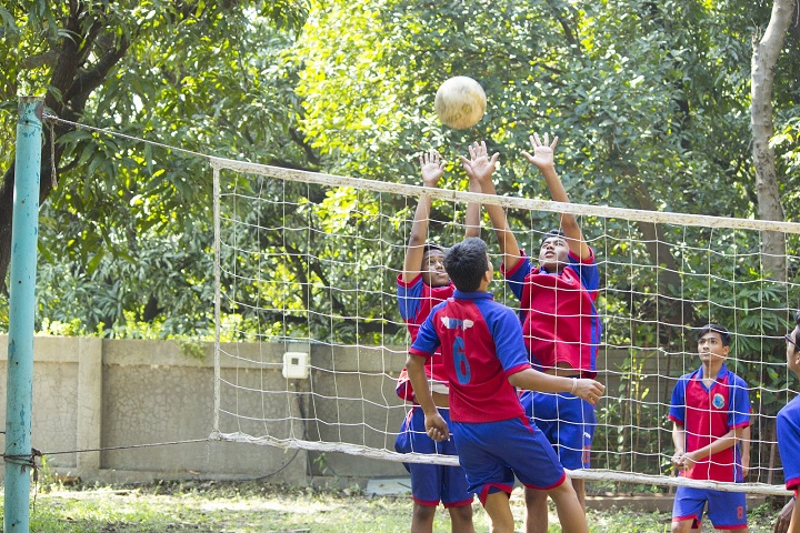 Vapi Public School-Sports vollyball