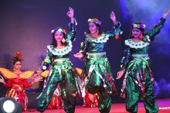 Dr Vijaypat Singhania School-Events dance