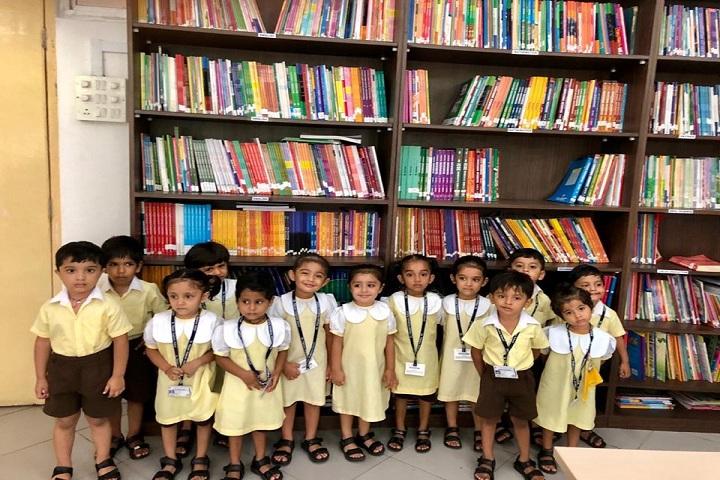 Dr Vijaypat Singhania School-Library view