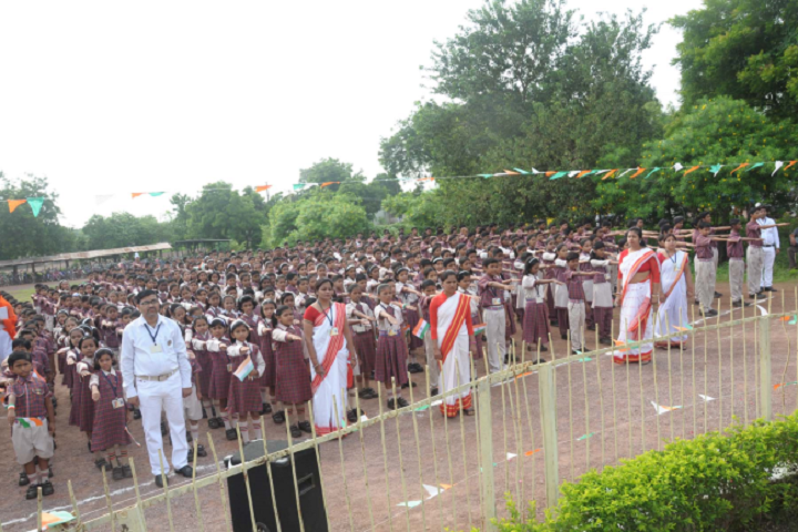 Dav Ispat Public School - Assembly