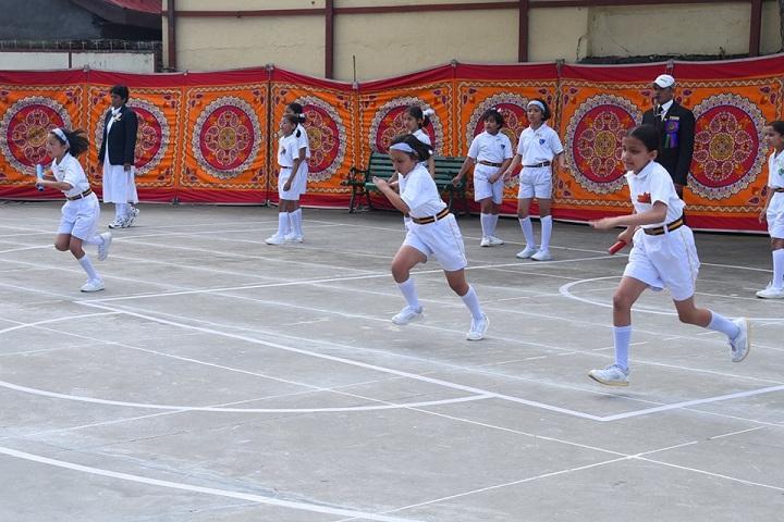 Auckland House School-Sports running