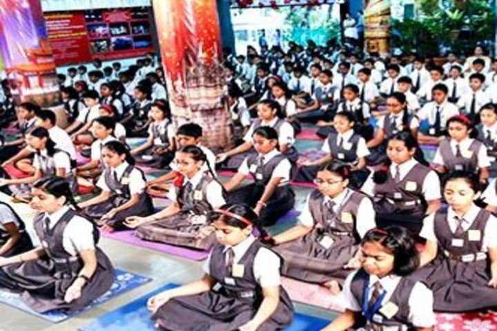 DAV Mukhyamantri Public School-Yoga Day Celebrations