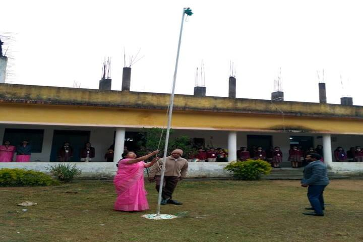 DAV Mukhyamantri Public School-Flag Hosting