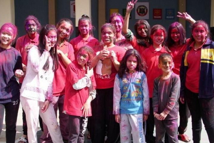 Shimla Public School-Holi Celebrations